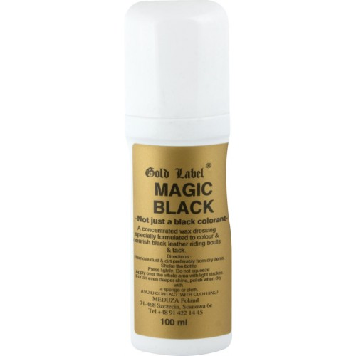 Magic Black Gold Label preparat do skór